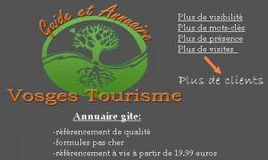 Annuaire référencement gite dans les Vosges