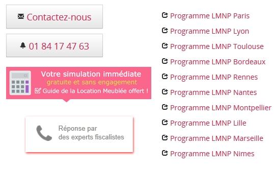 LMNP - programme, conseils revente