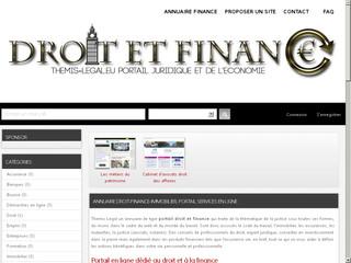Annuaire droit-finance et immobilier